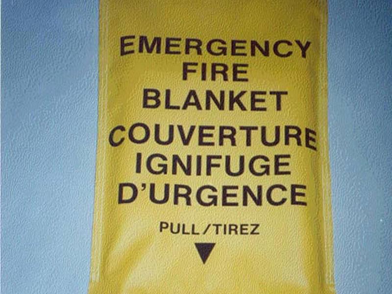 Safety Fire Welding Blanket-orange