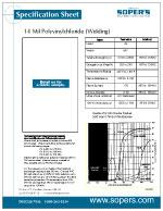 14 mil Polyvinylchloride (PVC) Clear