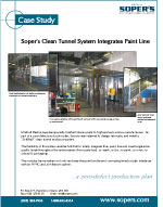 Clean Tunnel Integrates Paintline