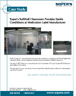 Cleanroom Provides Sterile Conditions