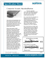 Composite Acoustic Absorber/Barriers