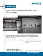 Reduces Paint Fumes at Aircraft Hangar