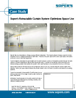 Retractable Curtain Optimizes Space Use
