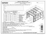 Retractable Scissor Enclosure Survey Sheet