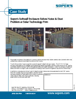 SoftWall Enclosure Solves Noise & Dust Problem