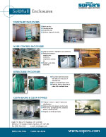 Brochure - Softwall Enclosures Partitions - Linecard Canada
