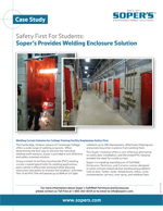 Soper's Provides Welding Enclosure Solution for College