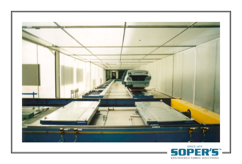 cleanroom for car manufacturer