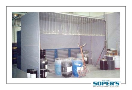 Chemical mixing booth