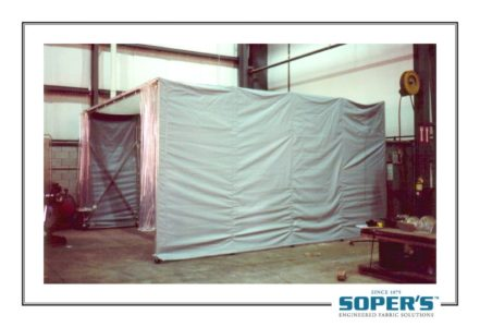 Soda blasting--closed
