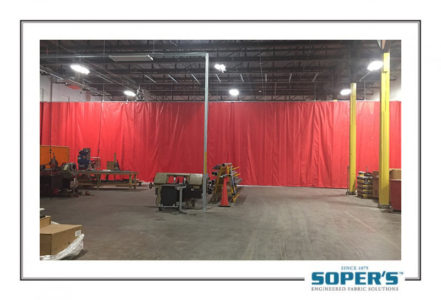 Warehouse curtain